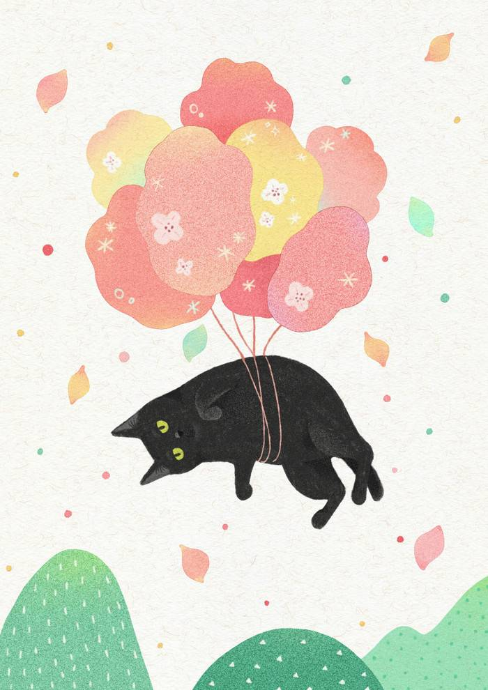 中班|语言活动:小猫咪的一整天