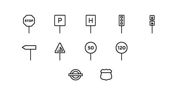 中班|社会教案:交通标志